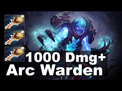 Arc Warden 1000+ DMG 3x Rapier Tactic Dota 2