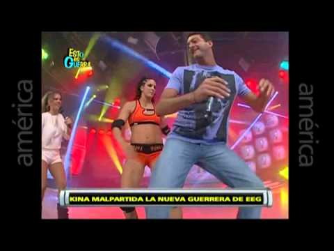 Esto es Guerra: Harlem Shake con Kina Malpartida - 15/05/2013