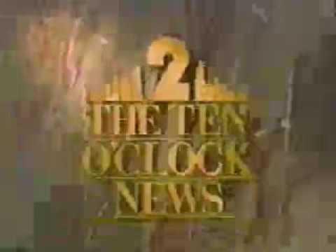 WBBM: The 10 O'Clock News Open--1988