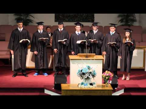 Heritage Christian School Class of 2013 Commencement Exercise Graduates Read  Proverbs 3:1-18