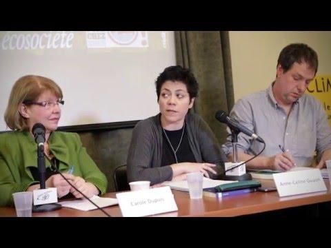 Conférence de presse du lancement du livre « Le piège Énergie Est »