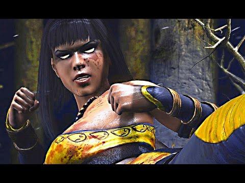 Mortal Kombat X TANYA Fatalities Brutalities Ending Gameplay Tanya Fatality