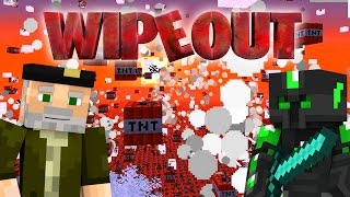 ¿QUIÉN GANA? WIPEOUT | Minecraft Race Map