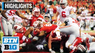 Highlights: Flashback - Buckeyes End Badgers Undefeated Season | 2017 B1G Football Championship
