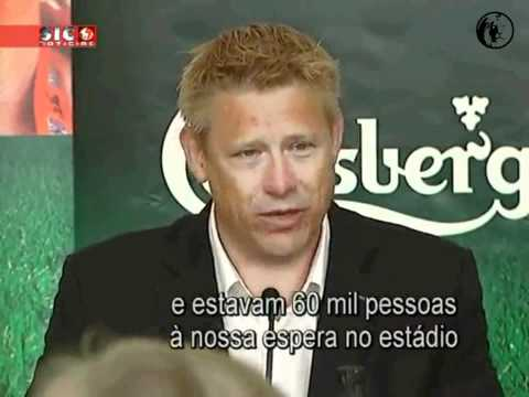 Peter Schmeichel e as recordações do Sporting