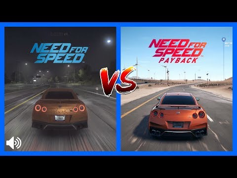 2015 Vs NFS PayBack Nissan GTR Sound Comparison A