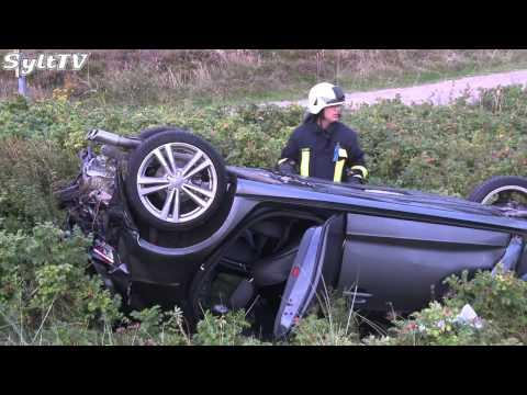 Schwerer Verkehrsunfall in Kampen auf Sylt