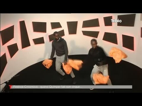 Maputo Mozambique : extrait du spectacle de jonglage musical