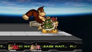 SSF2: CPU Battles - Bowser vs Donkey Kong