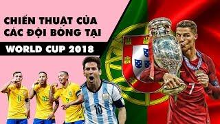 Chiến thuật của các đội bóng tại World Cup 2018
