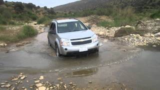 Chevrolet Equinox off-roading