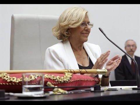 Manuela Carmena, alcaldesa de Madrid con los votos de Ahora Madird y PSOE