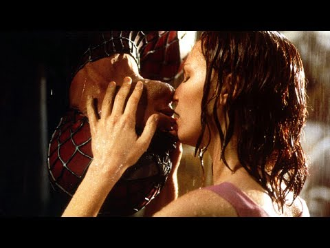 Upside-Down Kiss Scene - Spider-Man (2002) Movie CLIP HD
