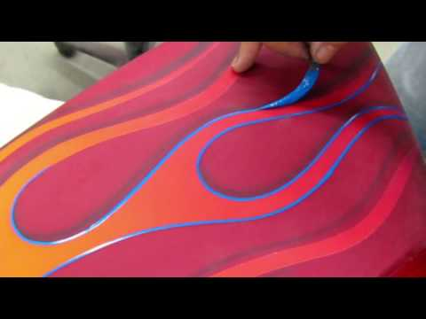 Guide to Pinstriping Hot Rod Flames