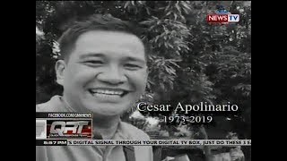 QRT: Rest in peace, Cesar Apolinario