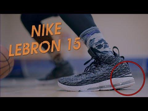 Видео обзор Nike LeBron 15 - Тест кроссовок! Очередной провал ЛеБрона?!