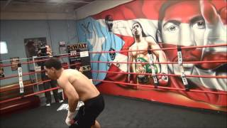 Danny Garcia Media workout 11 1 16
