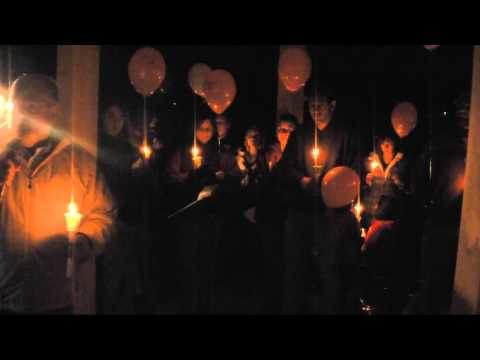 Newtown - Sandy Hook Elementary Vigil - Spencer NY