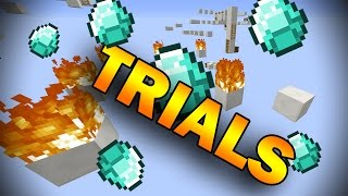 TRIALS OF DEATH (Minecraft Trials of Fire Parkour)