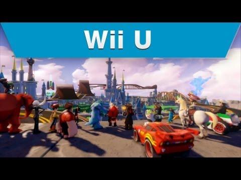 Wii U - Disney Infinity Toy Box Destruction Trailer