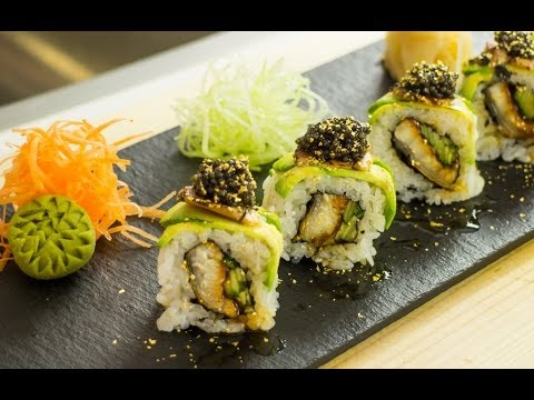 Millionaire Sushi Roll Video Recipe