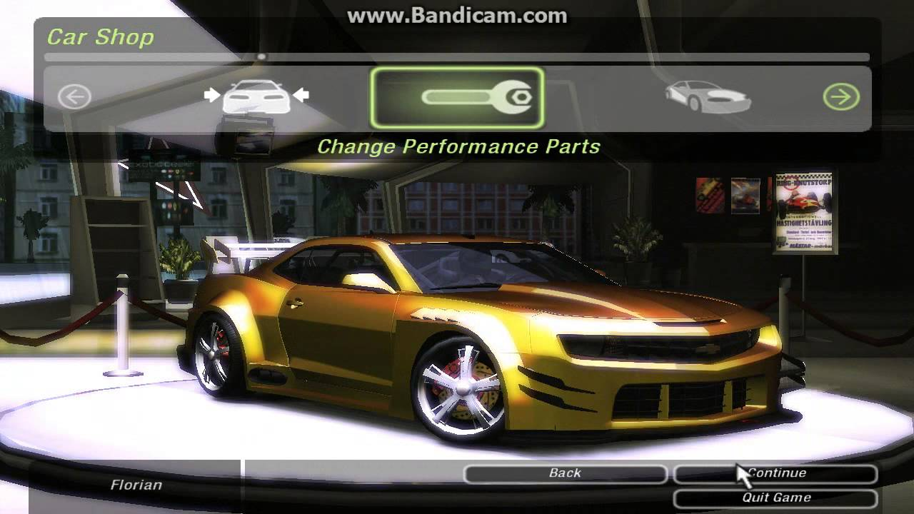 Need For Speed Underground  All Cars