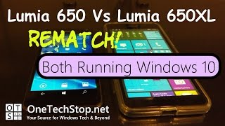 Lumia 640XL Vs Lumia 650 REMATCH! Both on Windows 10 Mobile