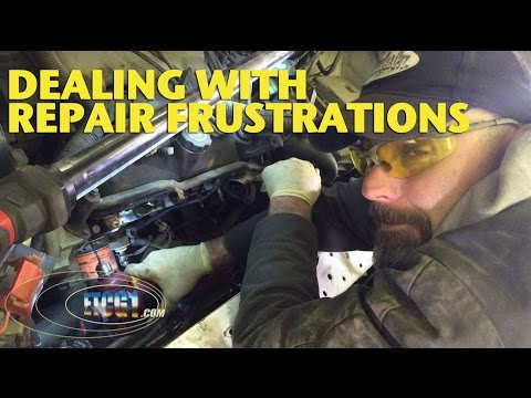 Dealing With Repair Frustrations -ETCG1