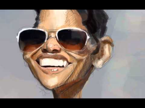 Halle Berry Speedpainting by David Duque.