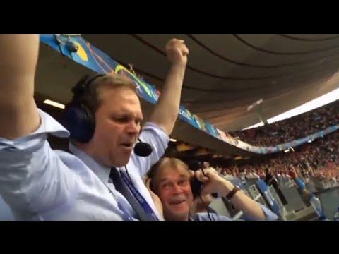 crazy Iceland commentator - Gudmundur Benediktsson aka Gummi Ben