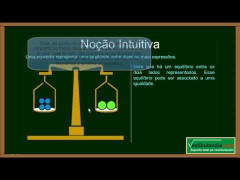 Matemática Zero 2.0 - Aula 20 - Equações do Primeiro Grau - (parte 1 de 1)