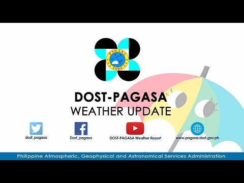 DOST-PAGASA Presscon Tropical Depression #CrisingPH  Issued at 11AM April 15, 2017