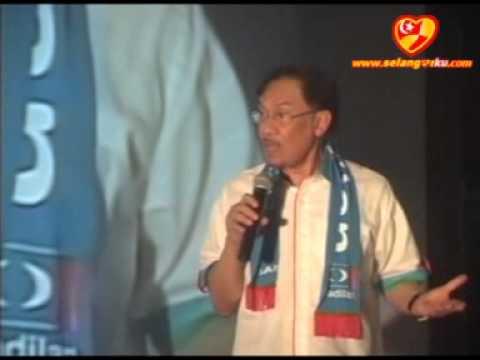 CERAMAH PERDANA Merdeka Rakyat Jalan Kebun 18072012 - Anwar Ibrahim
