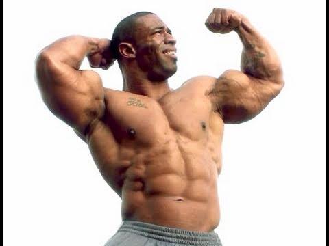 HD Muscle - Bodybuilder Cory Mathews posing outside