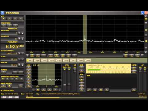 Radio Ronin Shortwave (U.S. Pirate) 6925kHz 2/11/12 23:29~ UTC - Station Announcement
