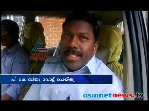 Kerala Election 2014:  PK Biju on polling boothകേരളം പോളിങ്ങ് ബൂത്തിലേയ്ക്ക്