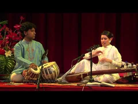 Meru Concert - Nina Virdee - Ram Bhajan - Raga Mishra Bhairavi video