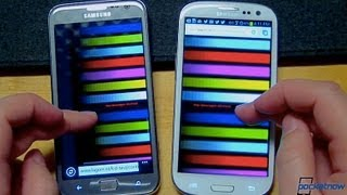 Samsung ATIV S vs Samsung Galaxy S III