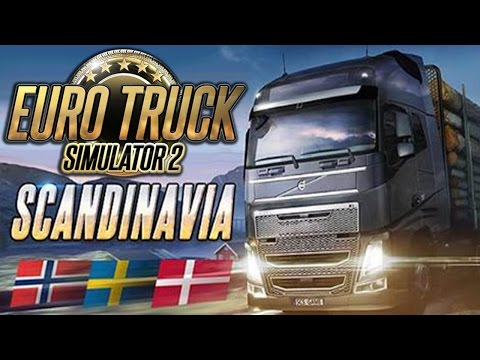 EURO TRUCK SIMULATOR 2: SCANDINAVIA [Add-On] [PC] Gameplay ETS2 Scandinavia DLC | Deutsch German
