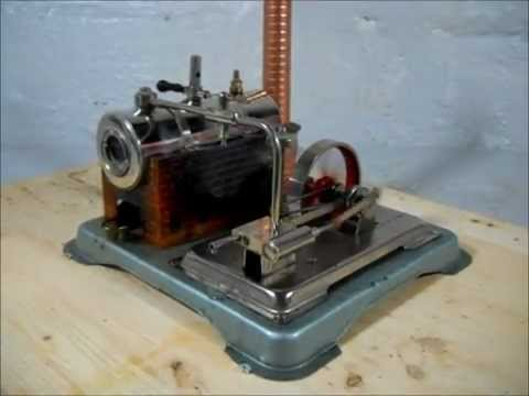 For Sale Ebay - Jensen Model #65 Live Steam Engine Model Toy - YouTube