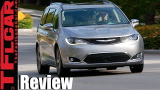 2017 Chrysler Pacifica Minivan First Drive Review: All  New & Very Much Improved