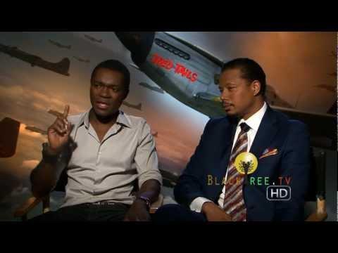Terrence Howard & David Oyelowo talk Red Tails