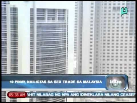 Balitaan: 10 Pinay, Nailigtas Sa 'sex Trade' Sa Malaysia [jan. 03, 2014] video