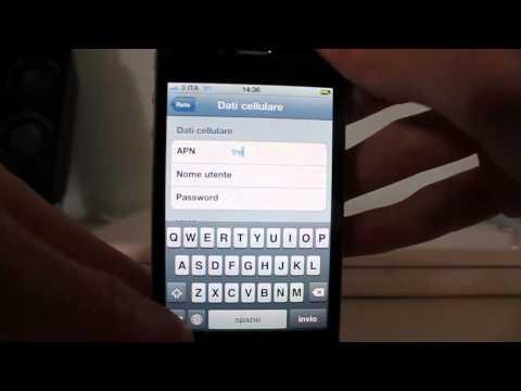 Unlock iPhone 4 Straniero con Gevey SIM. Operatore Italiano.
