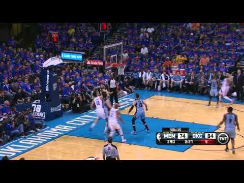 Memphis Grizzlies vs Oklahoma City Thunder Game 7 | May 3, 2014 | NBA Playoffs 2014