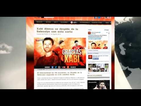 Xabi Alonso cuelga la Roja
