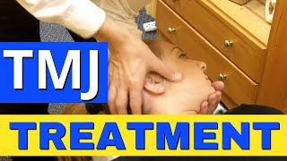 TMJ Chiropractic Adjustment, Jaw Adjustment, by TMJ Doctor Vaughan