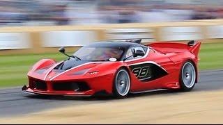 Ferrari FXX-K vs FXX vs 599XX vs LaFerrari Racing SOUNDS!