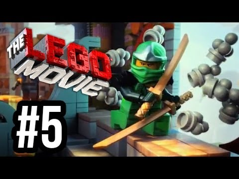 The LEGO Movie Videogame - The New Adventures - Part 5 - GREEN NINJA!! (Gameplay Walkthrough HD)