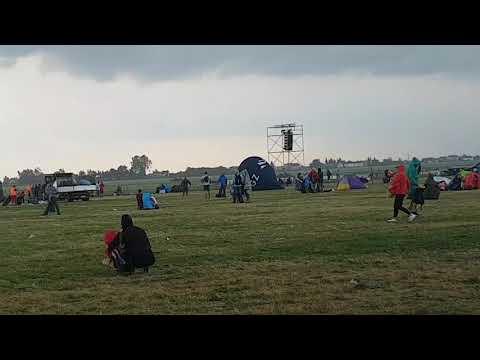 Zerwany Balon Reklamowy Podczas Burzy Na Airshow 27.08 W Radomiu